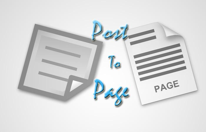 how-to-change-post-to-page-and-vice-versa