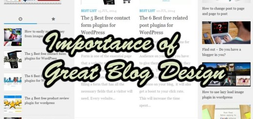 having-a-great-blog-design-important