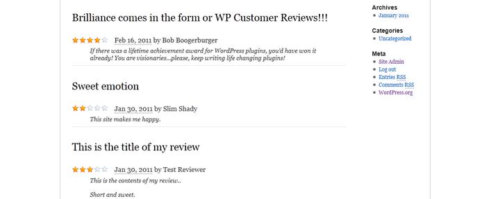 wp-customer-reviews -free-product-review-plugin