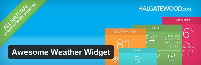 awesome-weather-widget-best-free-wordpress-weather-plugin
