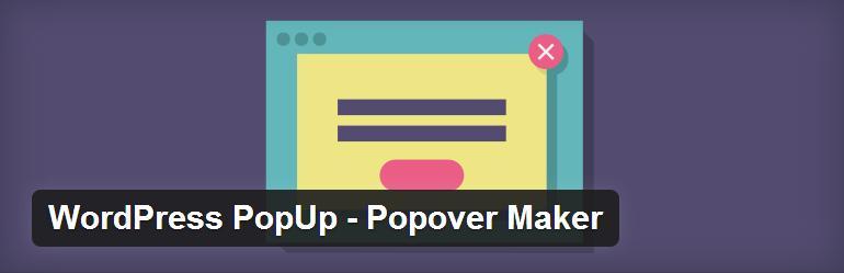 WordPress popup-popover-maker