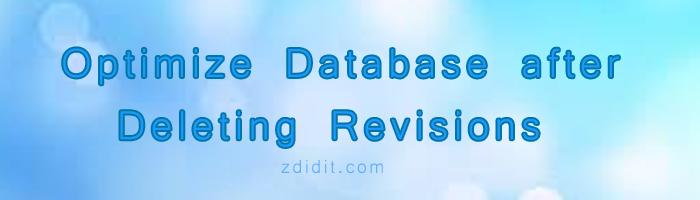 optimize-database-after-deleting-revisions