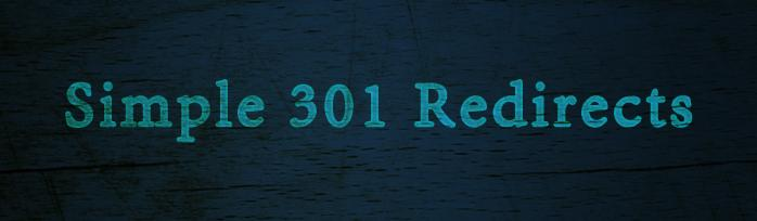 simple-301-redirects