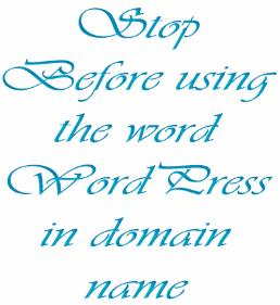 word-wordpress-in-domain-name