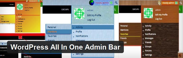 wordpress-all-in-one-admin-bar