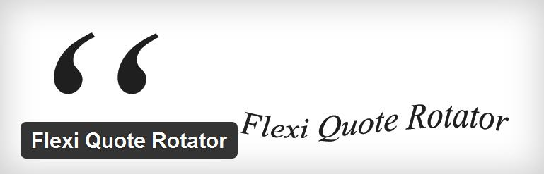 flexi-quote-rotator-plugin-WordPress