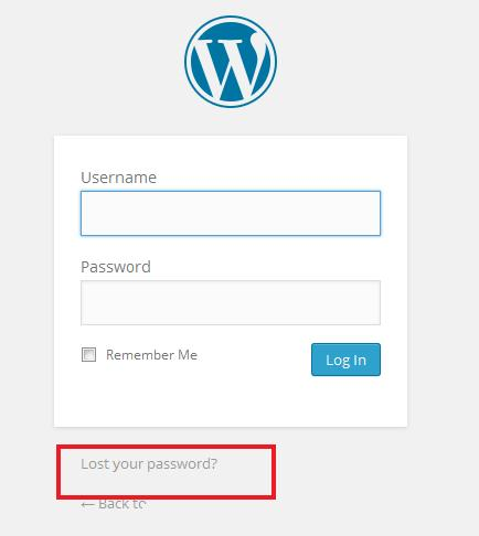 recover-forgoten password-in-wordpress-login