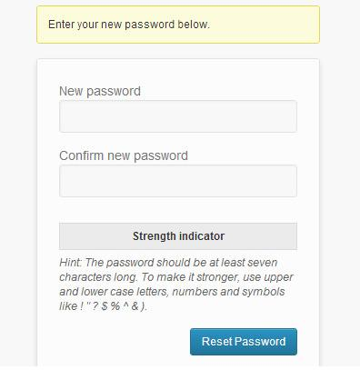 recover-forgoten password-in-wordpress-new password