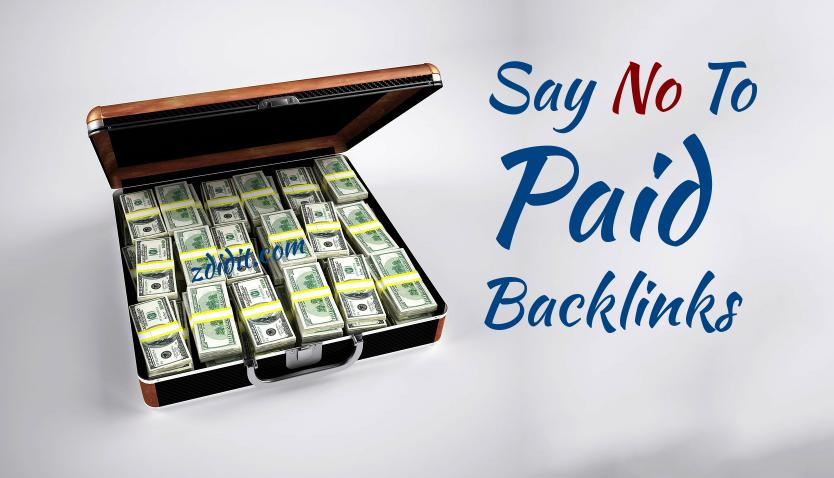 paid-links-a-big-no-seo