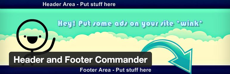 header-footer-commmander-plugin-wordpress