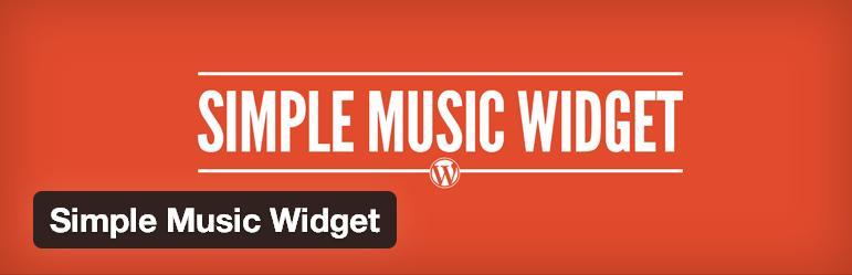 simple-music-widget