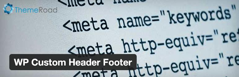 wp-custom-header-footer-plugin -wordpress