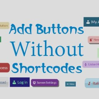 add-buttons-without-shortcodes