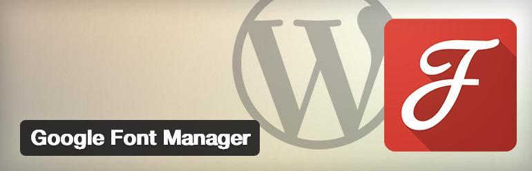 google-font-manager