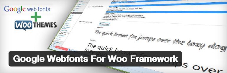 google-webfonts-woo-framework-plugin-wordpress