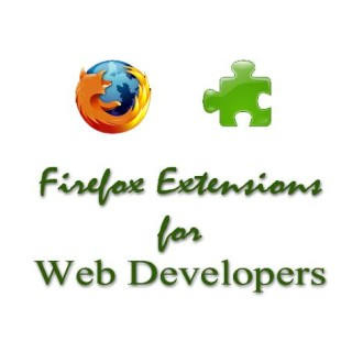 Firefox extensions for web developers