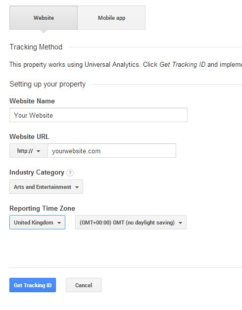 list-website-add-google-analytics