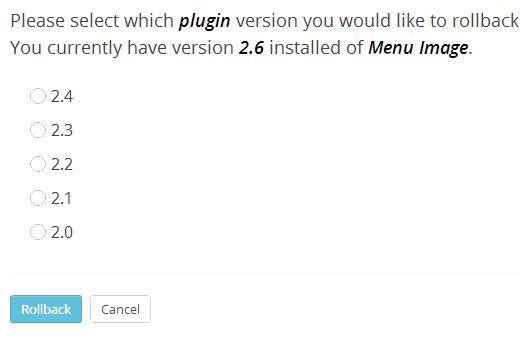 rollback-downgrade-plugins-version