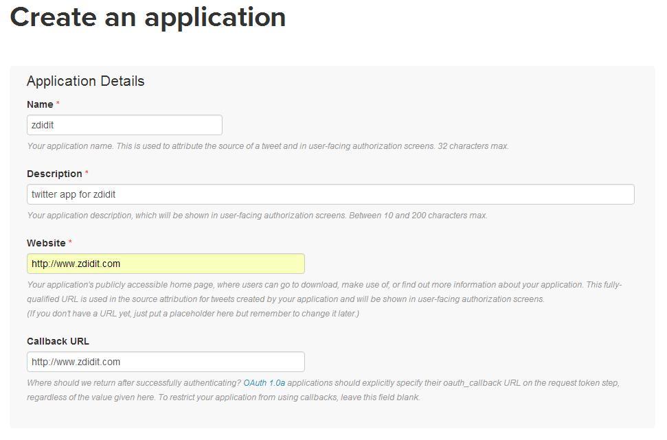 create-twitter-app-aplication