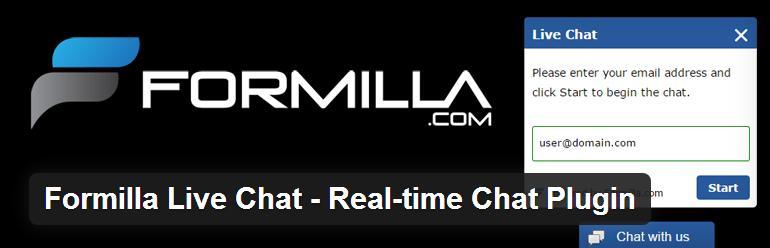 formilla live chat-plugin-WordPress