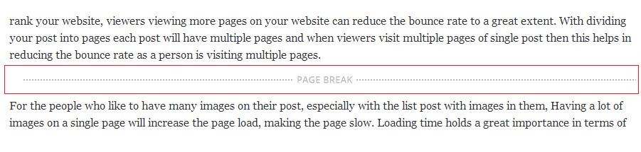 how-to-divide-post-into-pages